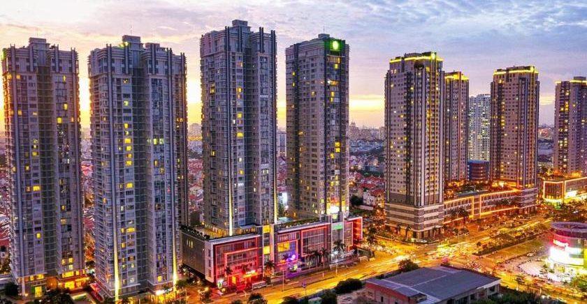 Can Ho Sunrise City buoi chieu